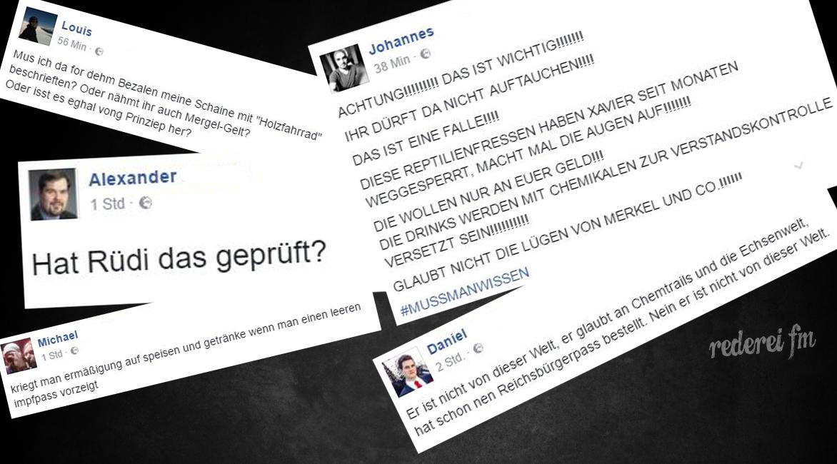 Xavier Naidoo Shitstorm Cover Rederei FM Skandal Deutschland Reichsbürger BRD Gmbh Podcast