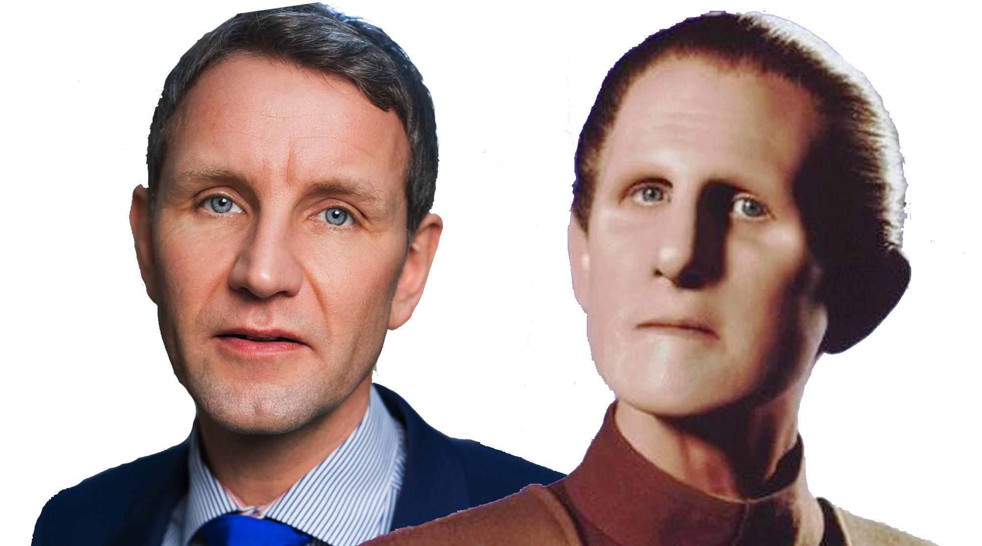 Björn oder Bernd Höcke als ODO (René Auberjonois)?