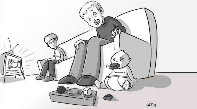 Eltern setzen Baby unter Drogen und VR Brille
