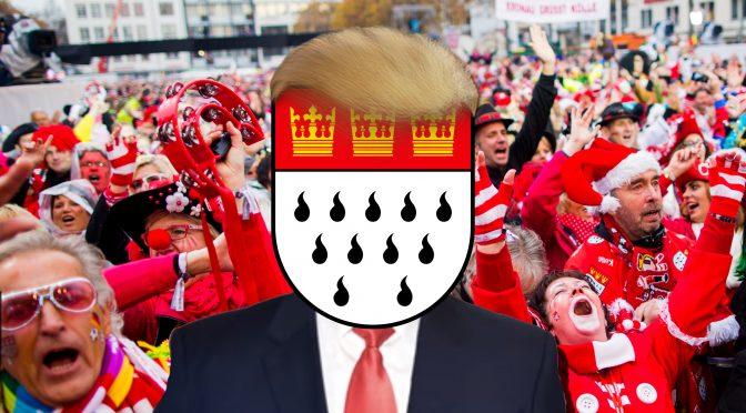 Der Jeck vom Kölschen Karneval