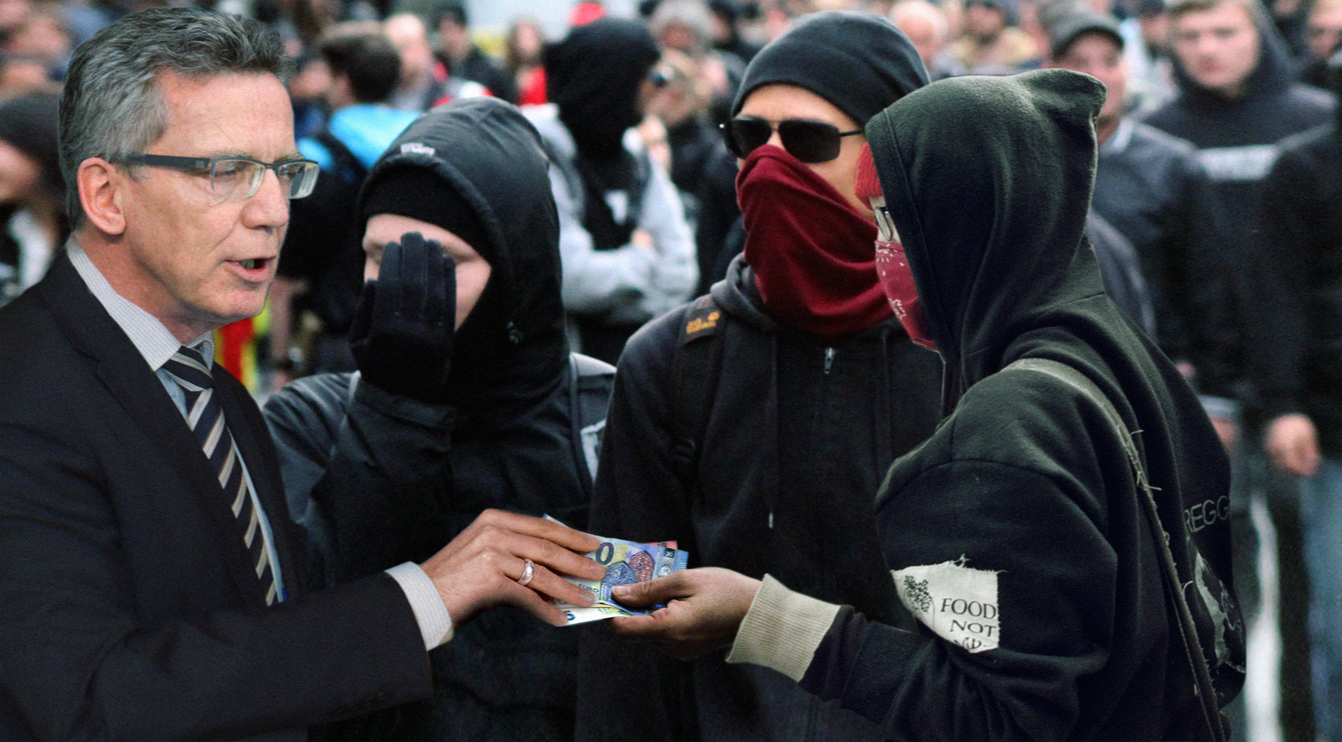 Antifa Demogeld